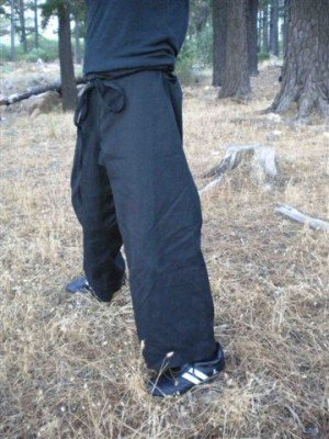 Hemp Karate Pants - Gassho- Hemp Martial Arts Clothing - hemp karate pants