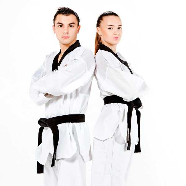 Hemp Taekwondo Suit - Gassho- Hemp Martial Arts Clothing - Hemp Taekwondo Suit